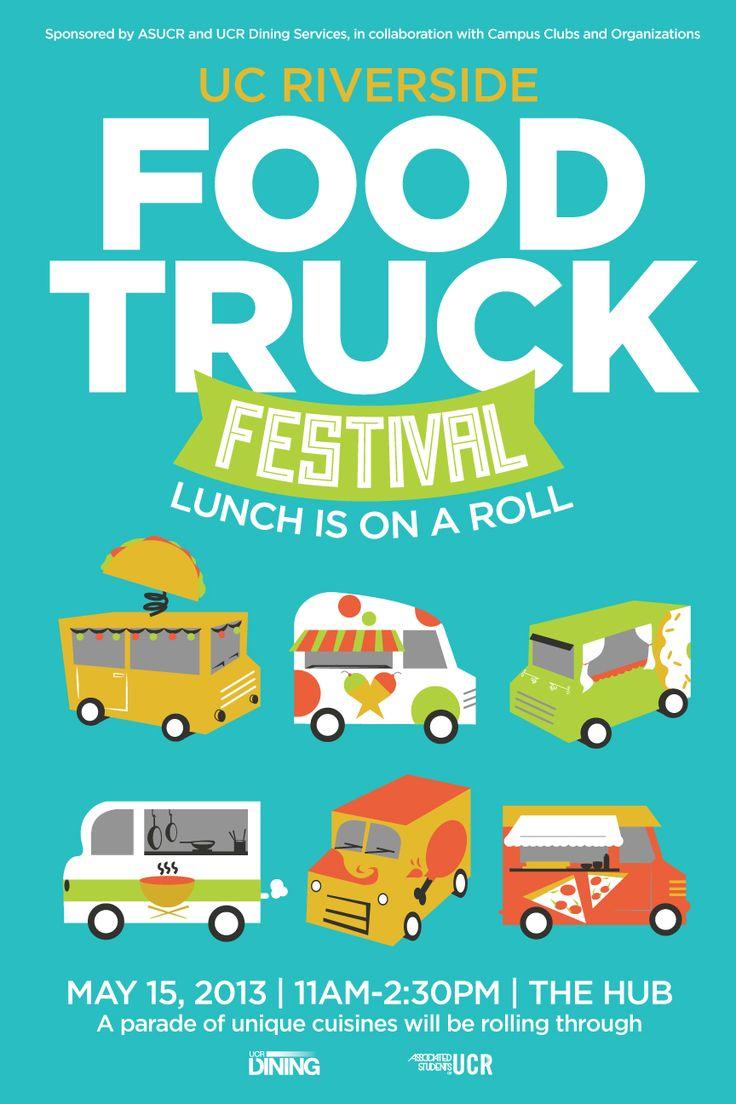 festival poster poster designs pinterest festivals food truck and trucks. Black Bedroom Furniture Sets. Home Design Ideas