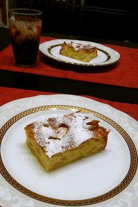 母直伝!!まぜるだけ簡単りんごのケーキ