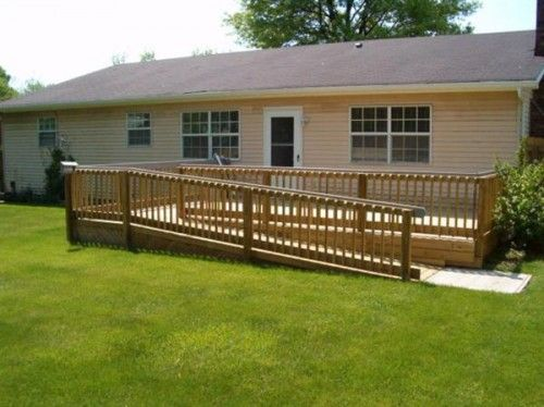 wood front porches for mobile homes with ramp - Saferbrowser Yahoo Image Search Results