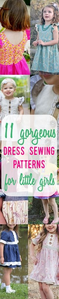 dress patterns for girls | sewing patterns for girls | how to sew a dress
