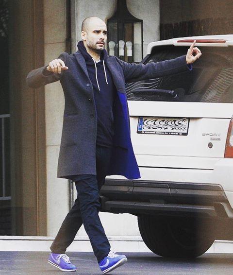 """Mi piace"": 395, commenti: 3 - Pep Guardiola (@mrpepguardiola) su Instagram: ""Casual #pepguardiola #guardiola #mancity #mcfc #guardiolastyle"""