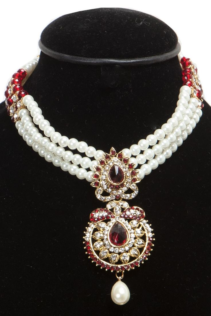 Andaaz Fashion present new arrival Jewellery like Red Alloy NECKLACE SETS. Emblish with Studded Jewellery,Stone,American Diamonds,Gold Plated these are perfect for Party,Wedding,Bridal,Festival,Ceremonial in Phoenix US. http://www.andaazfashion.us/red-alloy-necklace-sets-80437.html