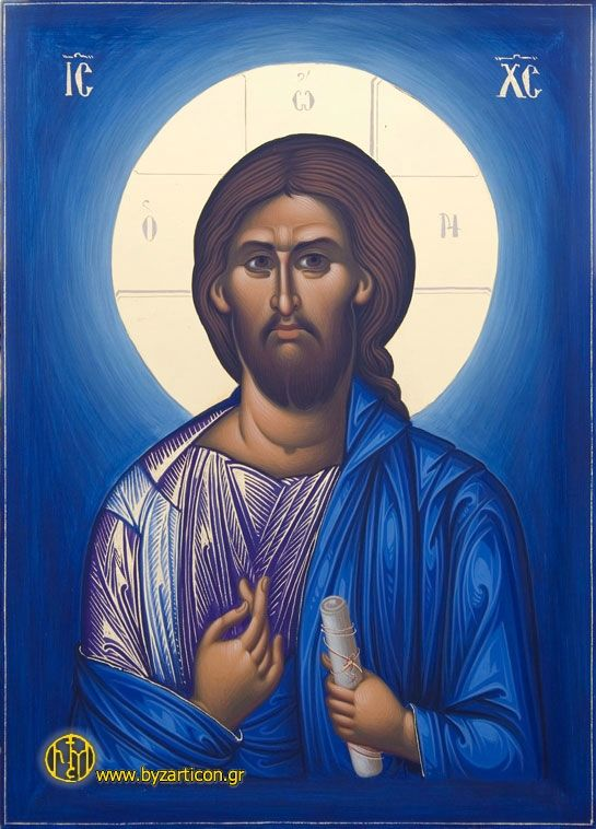 A beautiful Orthodox icon of Jesus Christ