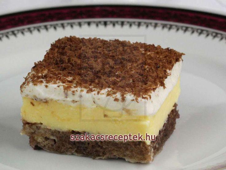 Pudingos sütemény • Recept | szakacsreceptek.hu