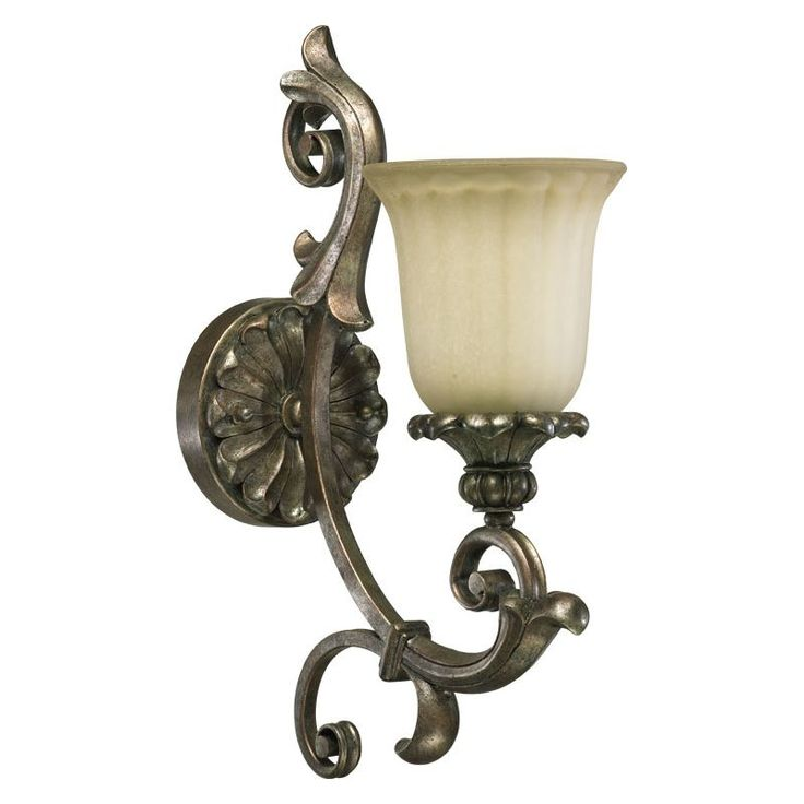 Quorum International 5400-1 Barcelona 1 Light Bathroom Sconce Mystic Silver Indoor Lighting Bathroom Fixtures Bathroom Sconce