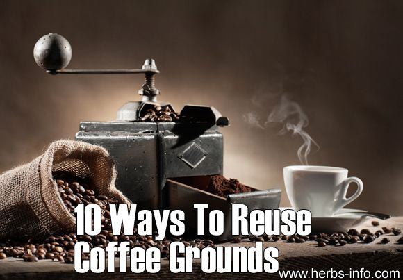 17 best images about uses for coffee grounds on pinterest body scrubs bulletproof coffee and - Coffee grounds six practical ways to reuse them ...