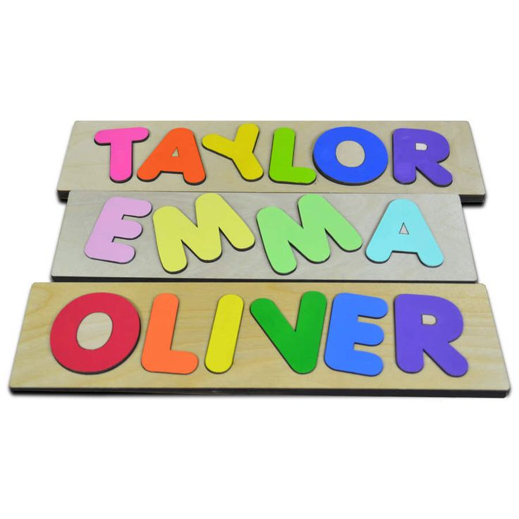 Funky Fonts Personalized Wooden Name Puzzles Child's Name Custom Made Puzzle Great Birthday Easter Christmas Gifts Valentine's Day 222794631 by LastPieceOfThePuzzle on Etsy https://www.etsy.com/listing/222794631/funky-fonts-personalized-wooden-name