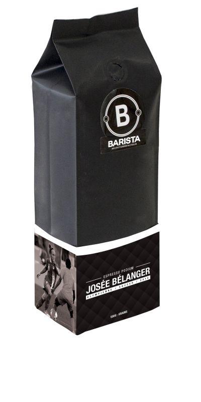 Josée Bélanger  Espresso Podium