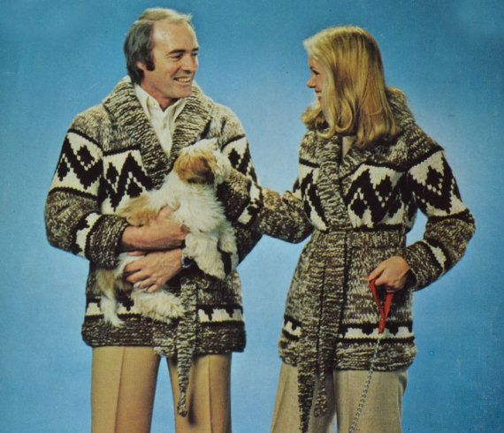 Vintage knitting, Cardigans and Knitting patterns on Pinterest