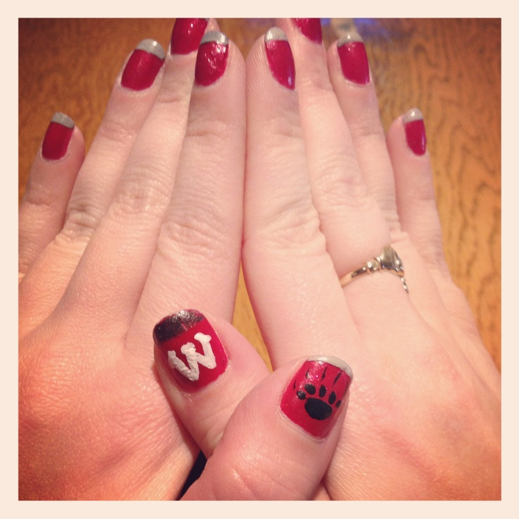 35 best GAME DAY NAILS images on Pinterest | Game, Games and Gaming