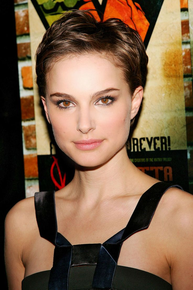 """Natalie Portman, 2006: """"It was a one-shot deal, and that was the most stressful thing about the experience,"""" Portman said of scene in V for Vendetta in which her hair is shaved off; it was hairstylist Mark Townsend who made certain growing out buzz cut wouldn't be as stressful, leaving hair longer on top for what he said offered her more versatility"""