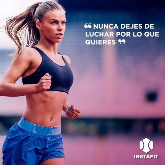 Nunca dejes de luchar por lo que quieres.  #Fitnessquote #Motivacion