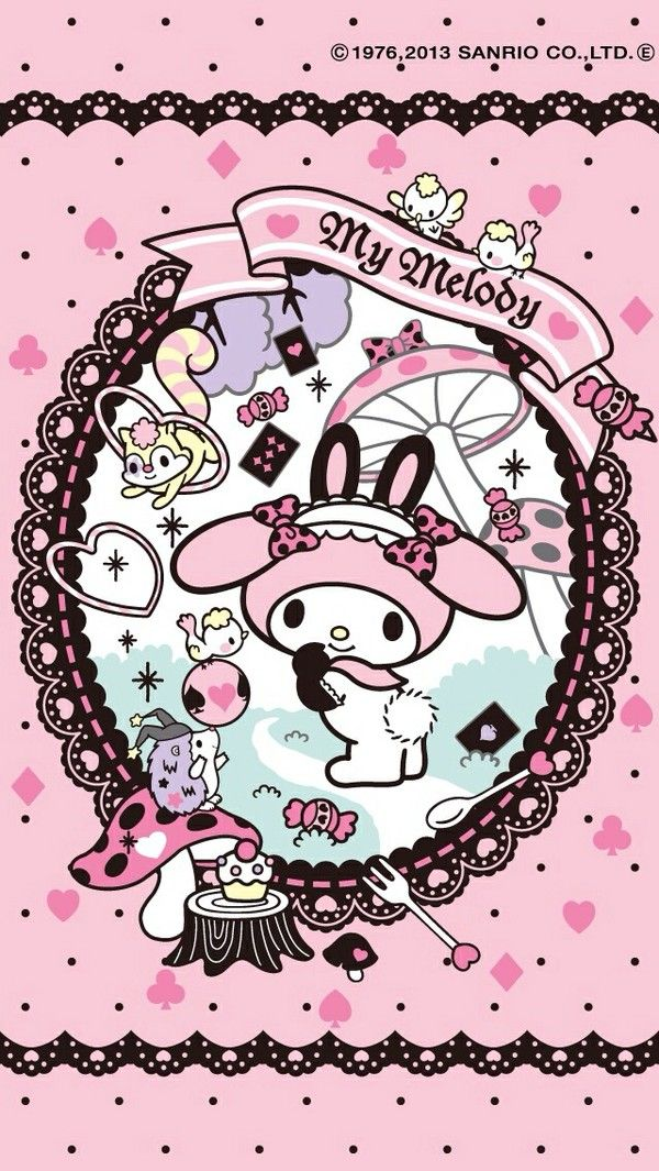 My melody phone background my melody pinterest phone backgrounds kawaii and chang 39 e 3 - Hello kitty chess set ...