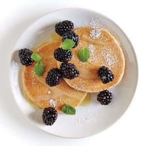 Tart-Sweet Lemon-Blackberry Pancake Topping | MyRecipes.com