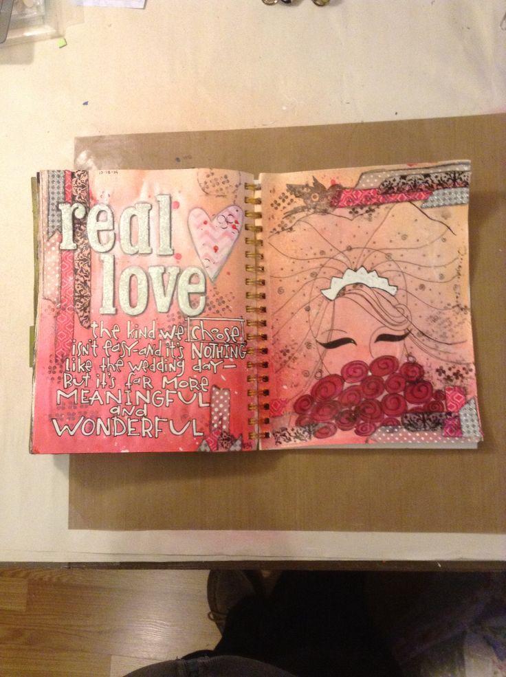 Art journal project #34