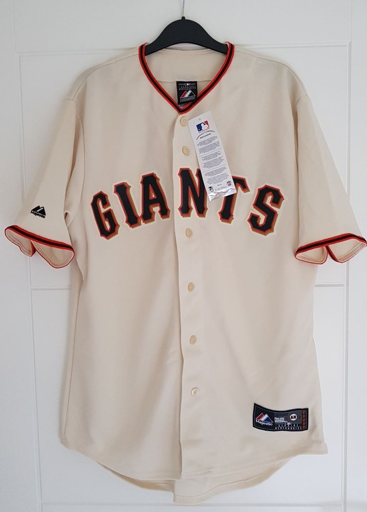 low priced 417d9 8811b MAJESTIC SAN FRANCISCO GIANTS MLB Official Baseball Jersey ...