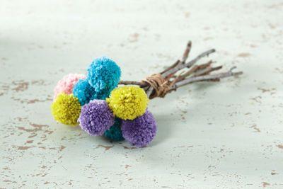 Bouquet de pompons Impeccable de Loops&Threads