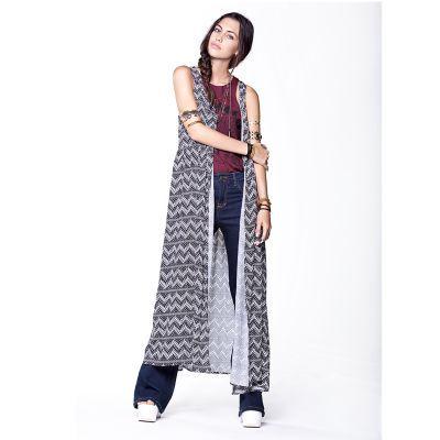 Kimono estampado Native Folk Sybilla