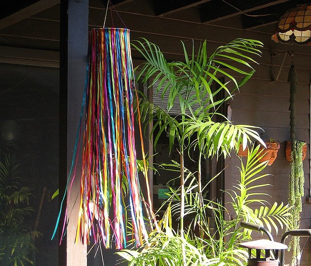 Ribbon Wind Sock Sunday School Craft Project Ideas