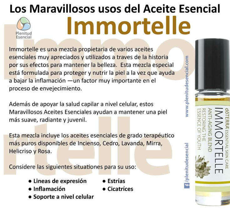Los maravillosos usos del aceite esencial immortelle for Aceites esenciales usos