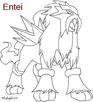 entei line free by mrsfroqueen on deviantart