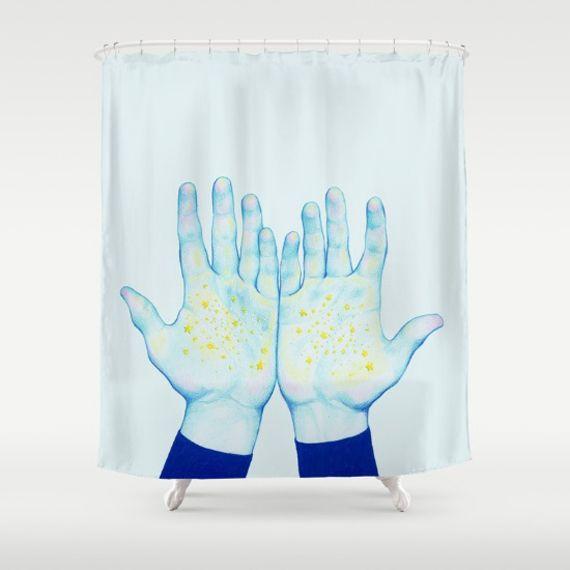 arte, diseño y cortinas de ducha