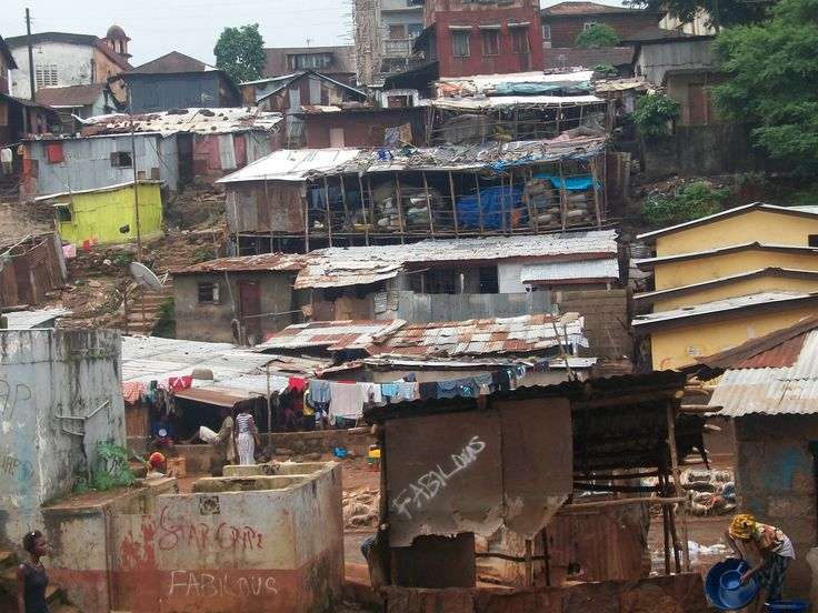 View full size Courtesy of Caryn Bladt The students will spend time in Kroo Bay, the poorest slum of Freetown, Sierra Leone's capital city.