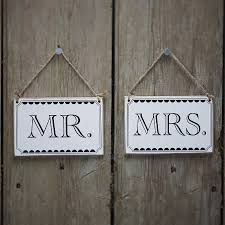 Image result for mr and mrs signs