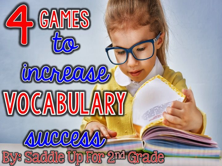 Simple but very effective games that are particularly good for second and third grades!!