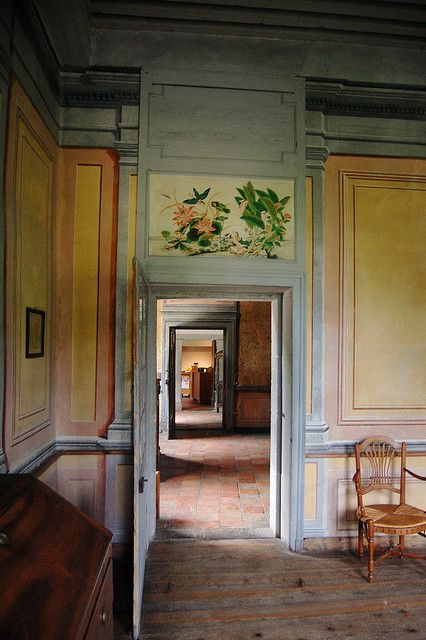 Ground floor at Les Charmettes : Jean Jaque Rousseau lived here for awhile, with Mme de Warens, between 1735 and 1736.