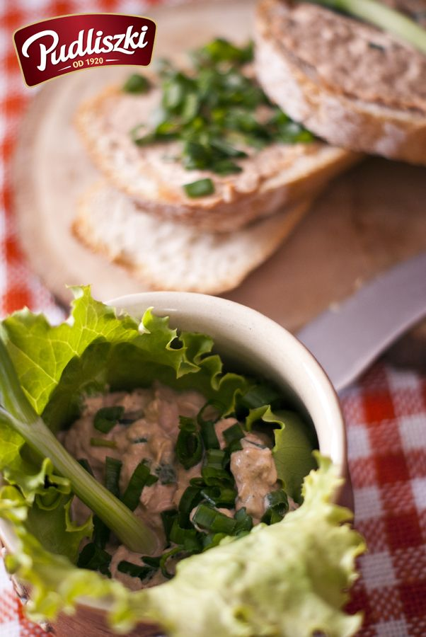Pasta z tuńczyka #pudliszki #przepis #przekąska #tuńczyk #ryba