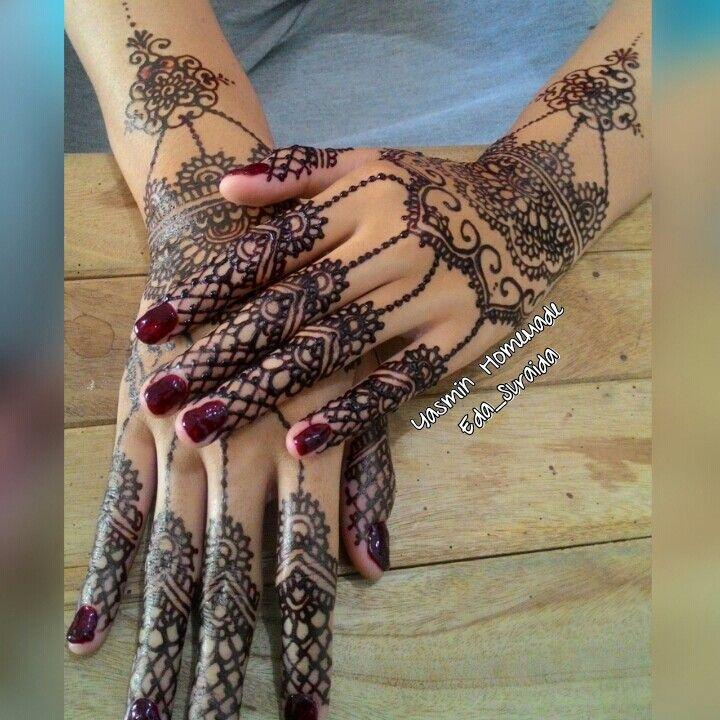 Henna wedding mbk Rumy...