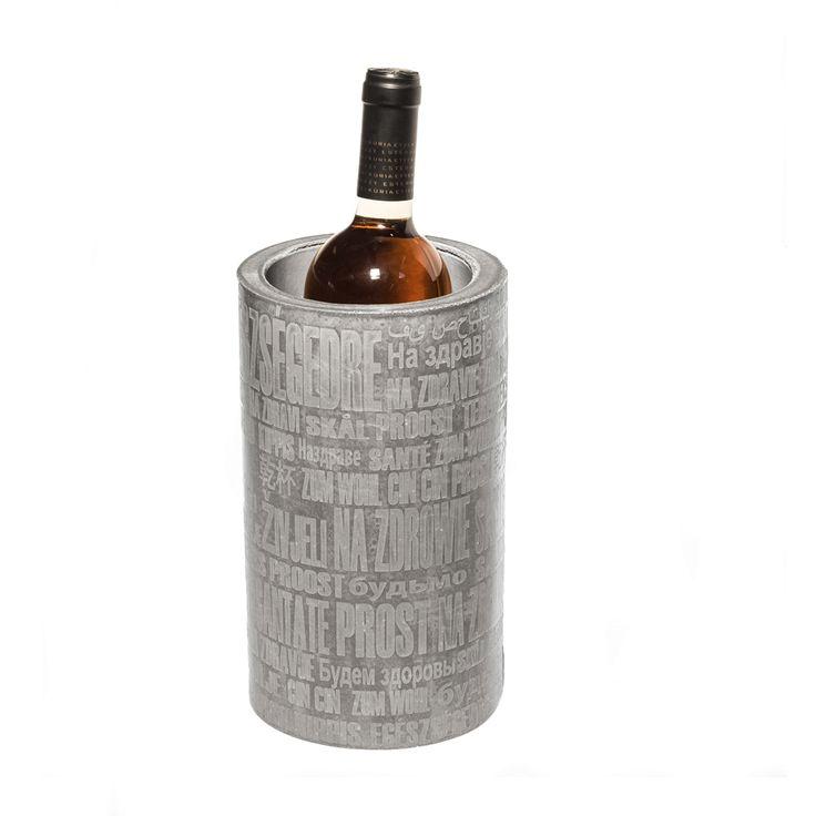 12 best s l a b concrete homewares lighting clocks for Concrete wine cooler
