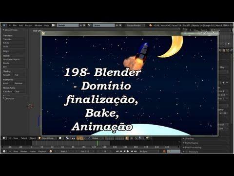 198- Blender -- Renderizando, Bake, Animação. (3 de 3)