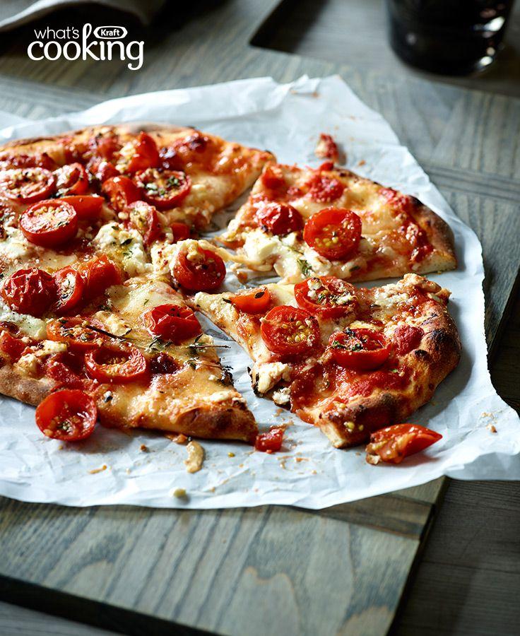 Tomato and Cheese Pizza #recipe