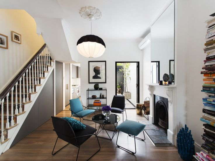 floor plans for victorian terrace opening up interior - Google Search