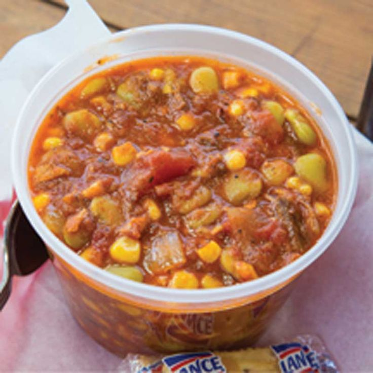 Brunswick Stew, recipe courtesy of Southern Soul Barbeque, St. Simons Island, Georgia.