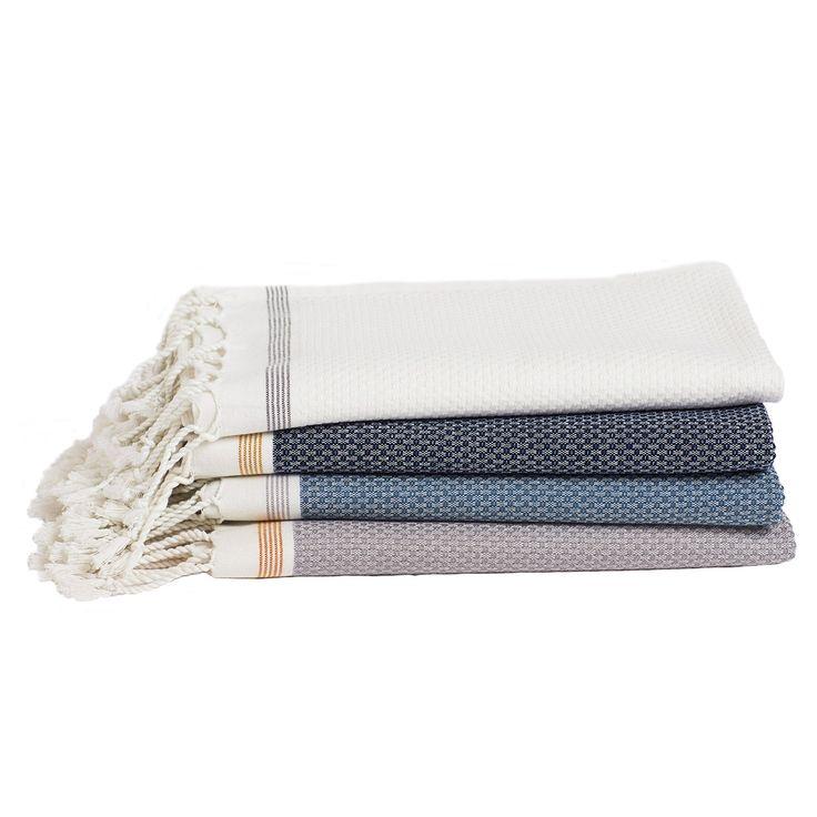 Coyuchi Mediterranean Bath Towels