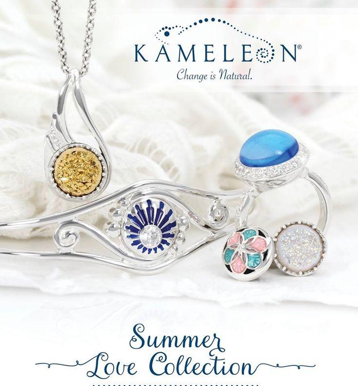 """Kameleon Summer """"Love Collection"""" is now in store http://pearhome.ca/kameleon-summer/    #Orangeville #Jewellery  #Kameleon"""