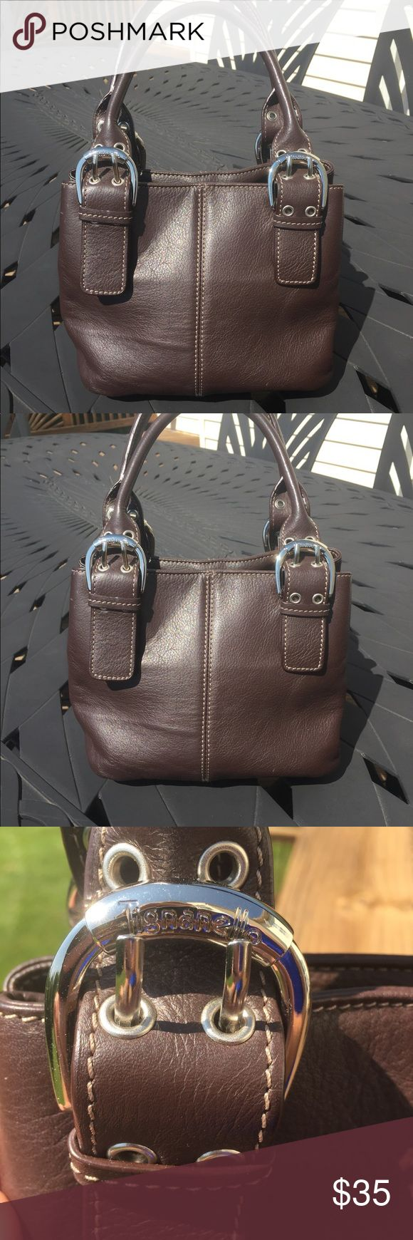 "Brown Tignanello handbag Brown Tignanello handbag, three small pockets inside large pocket. 7.5"" x 9"" Tignanello Bags Shoulder Bags"