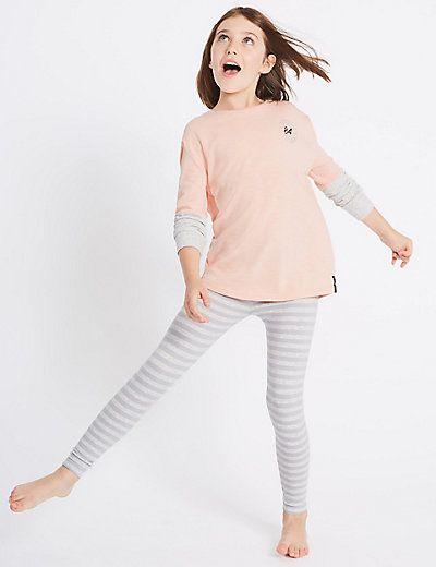 Striped Pyjamas (7-16 Years) | M&S