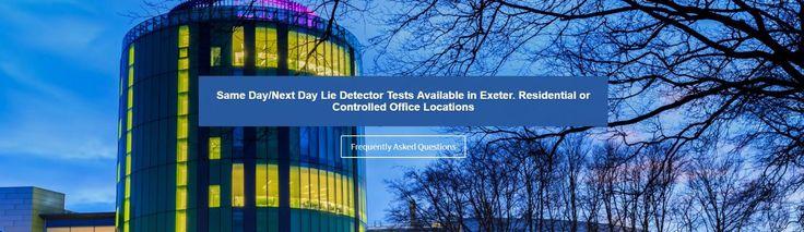 Lie Detector Test in Exeter