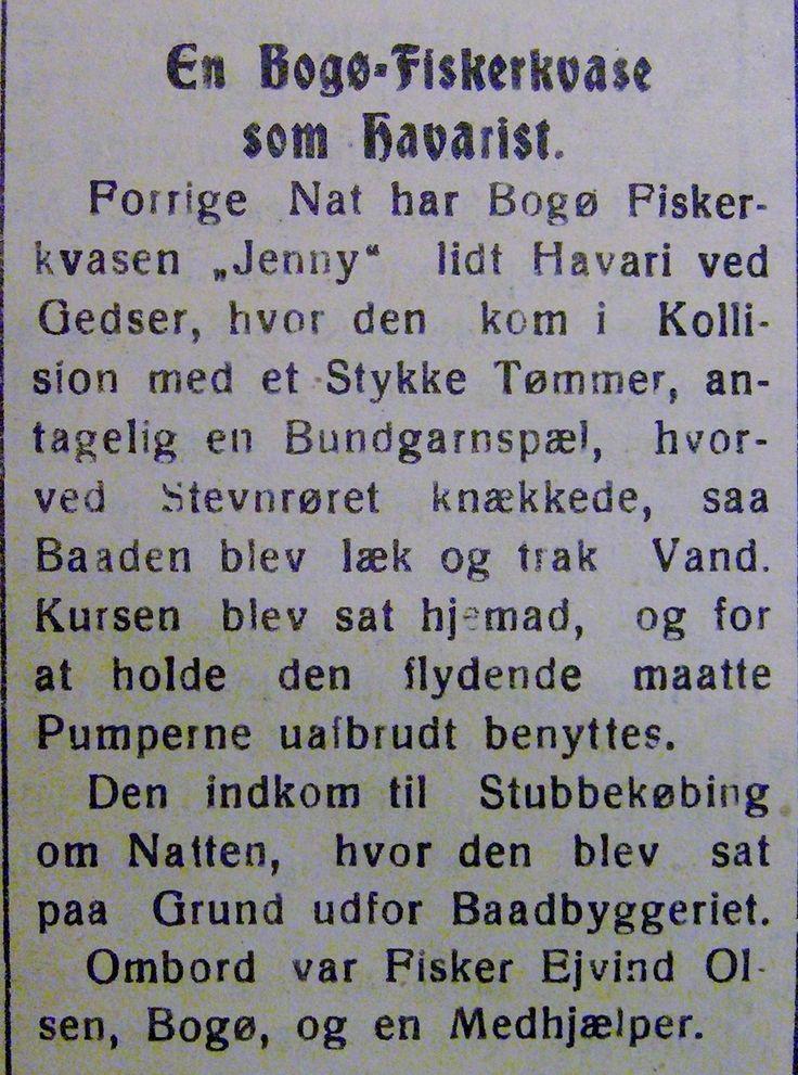 JENNY, en fiskerkvase fra Bogø lider havari ved Gedser  24. april 1931. Ført af Ejvind Olsen. Fra Mia Gerdrups arkiv. Tags: åledrivkvaser, drivkvaser, åledrivkvase, drivkvase, ålevod, drivvod.