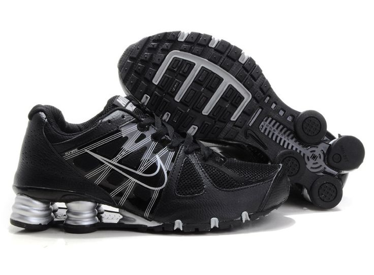 Only$75.89 NIKE SHOX AGENT BLACK METALLIC SILVER Free Shipping!