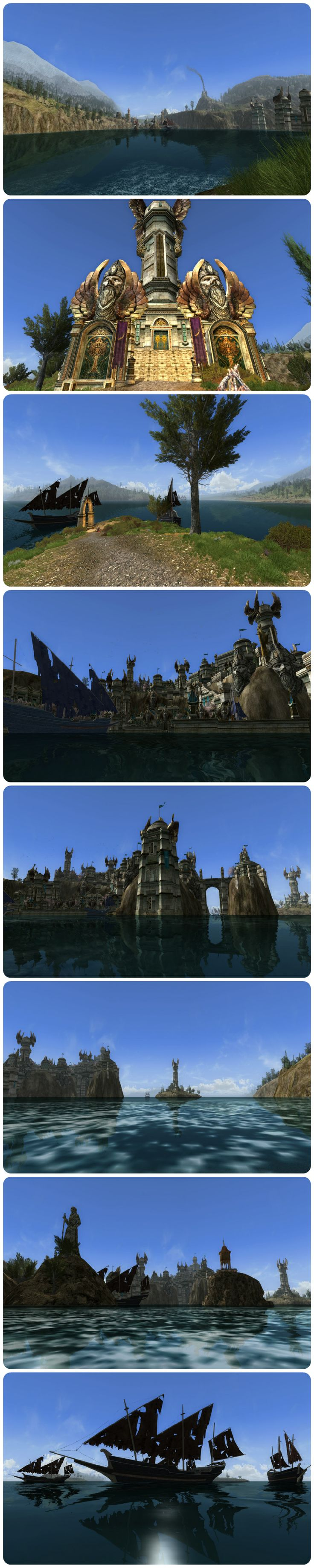 LOTRO Western Gondor preview. For more pics visit: http://www.containsmoderateperil.com/western-gondor-preview/