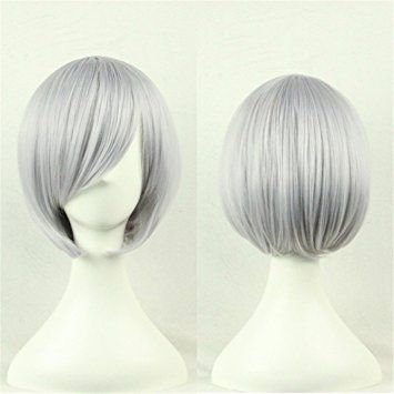 Short Hair Wigs Short Party Wig Beautiful Style Hairpieces for Women and Girls Cosplay, Festival, Rock… Review