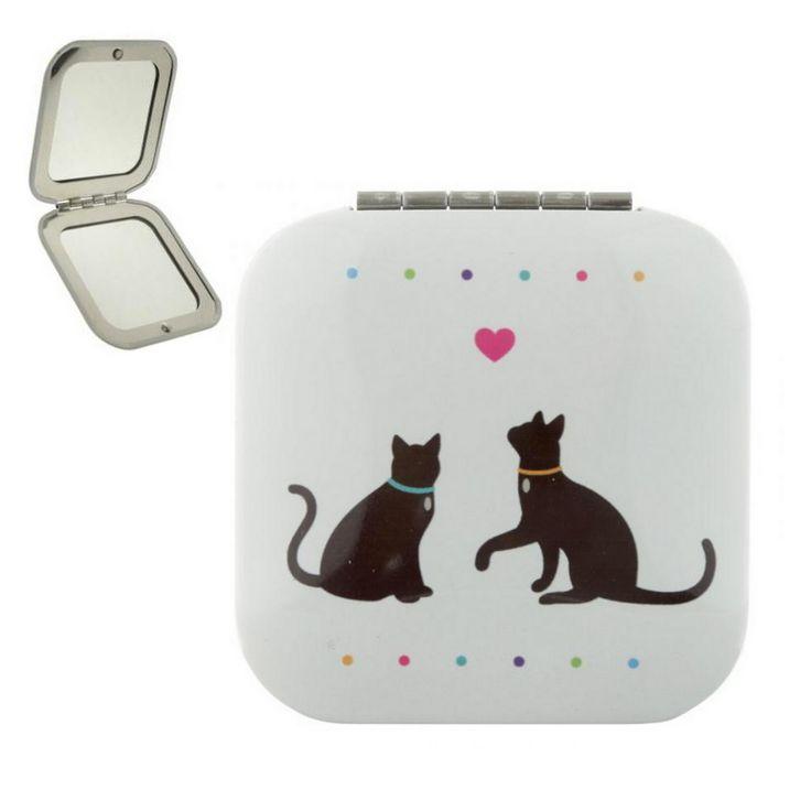 gattoso specchio da borsetta      www.gattosi.com =^..^=