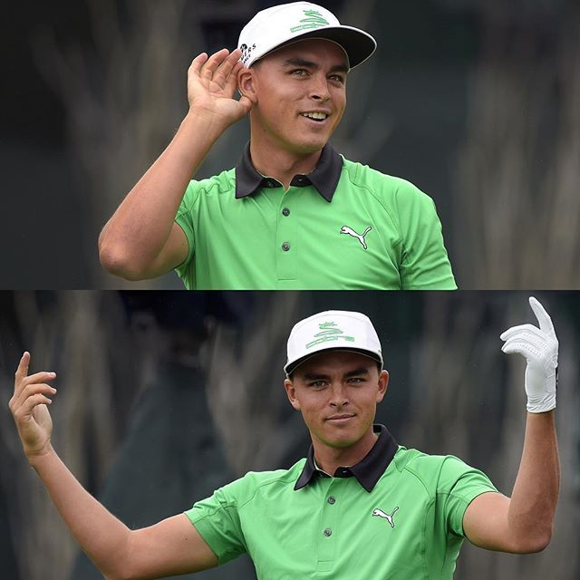 Give It Up For Rickie Fowler - 2016 Waste Management Phoenix Open.