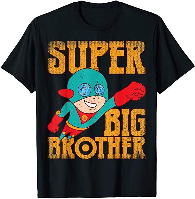 Amazon.com: Super Awesome Superhero Best Big Brother T ...