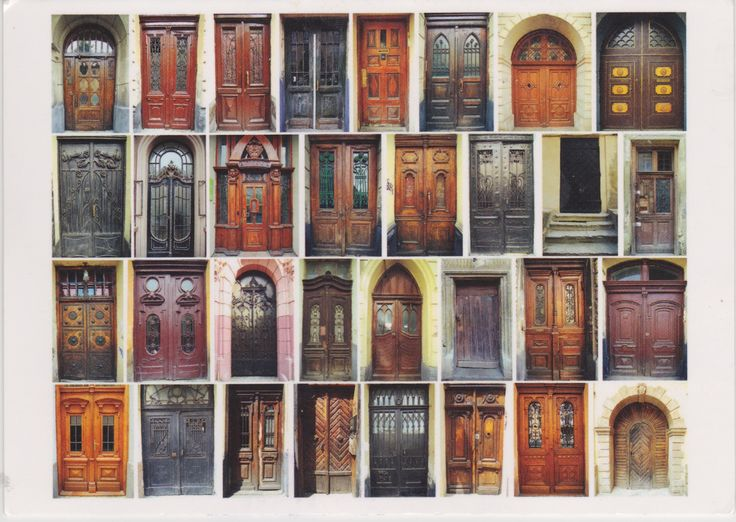Ukrainian compilation of old doors. Postcard Украинский сборник старых дверей. Открытка. (http://galushki.com/index.php?route=product/product&path=60&product_id=134)